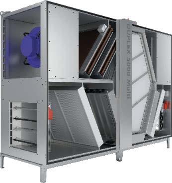 DUPLEX Multi 5000 - Activarea functionarii ventilatoarelor - functie noua inclusa in unitatile cu RD4 5