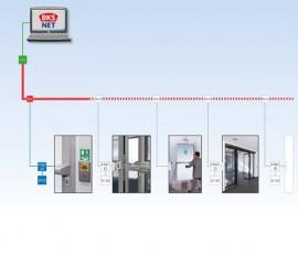 Sistem de management BKS NET - Sisteme de control si monitorizare pentru evacuare de urgenta - G-U
