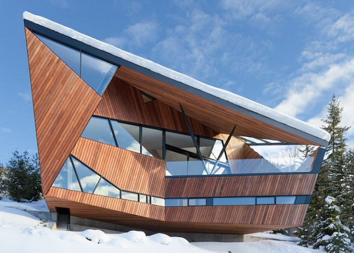 Casa Hadaway - O casa contemporana in varf de munte casa contemporana O casa contemporana in varf de munte hadaway house by patkau architects 1 122824