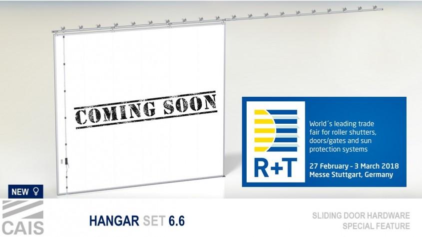 Lansarea noilor produse CAIS la targul R+T Stuttgart 27 februarie - 3 martie - Lansarea noilor