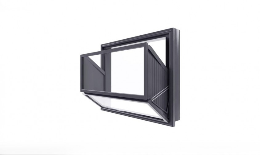 O fereastra care se transforma cu usurinta in balcon - O fereastra care se transforma cu