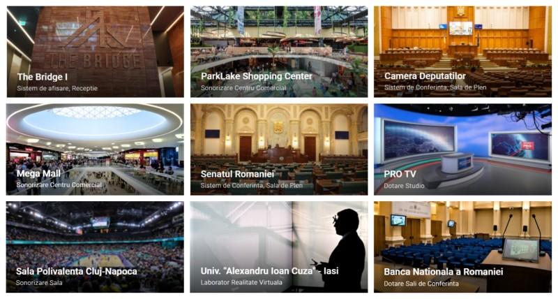 Referinte ELTEK - Proiecte realizate de ELTEK Multimedia