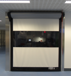 Usi rapide de interior - DYNACO D-313 CLEANROOM - Usi rapide din PVC