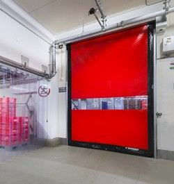 Usi rapide de interior - DYNACO D-501 COMPACT - Usi rapide din PVC