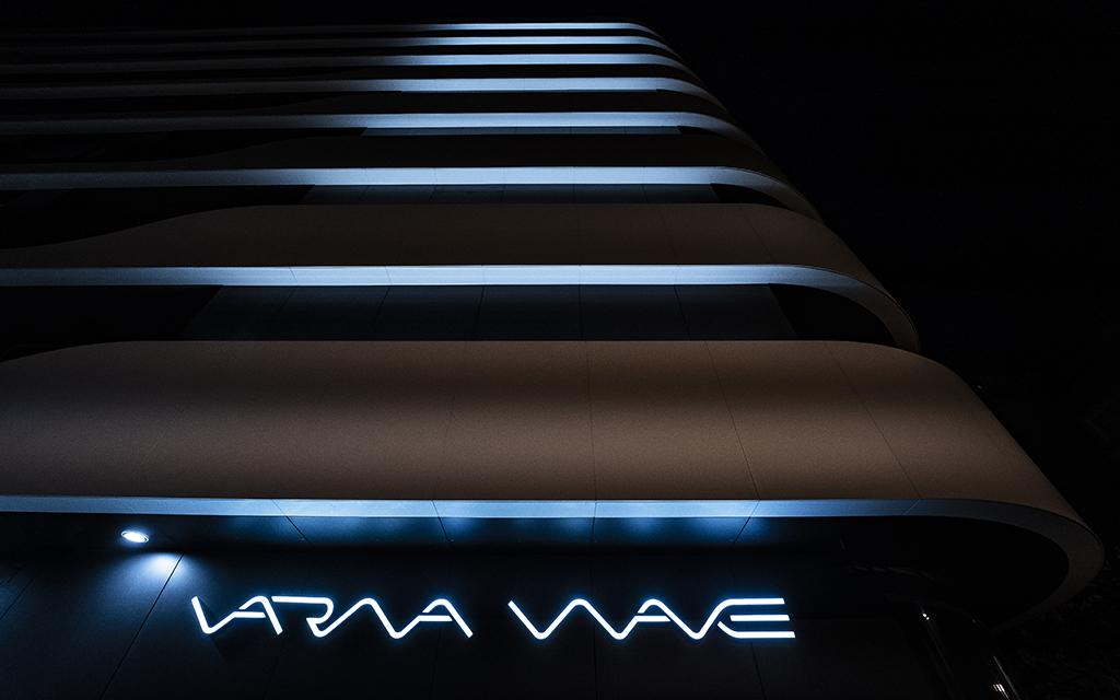 CORIAN Exterior Cladding - Varna Wave - Aplicatii