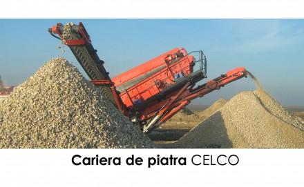 Cariera piatra CELCO - Prezentare CELCO