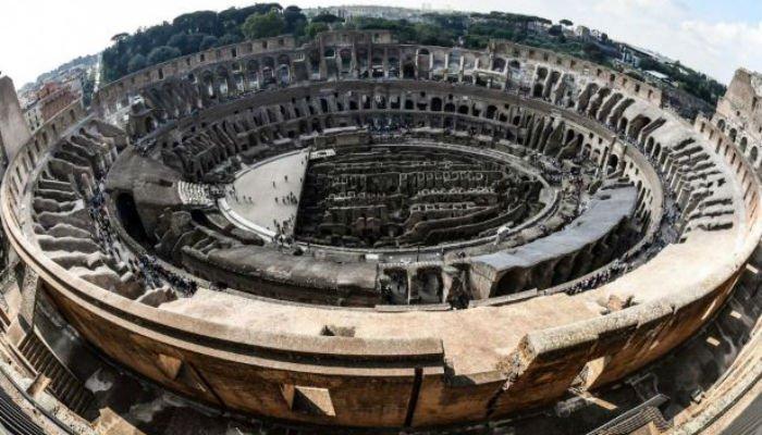 Colosseumul din Roma - Colosseumul din Roma își redeschide pentru public cele mai înalte niveluri