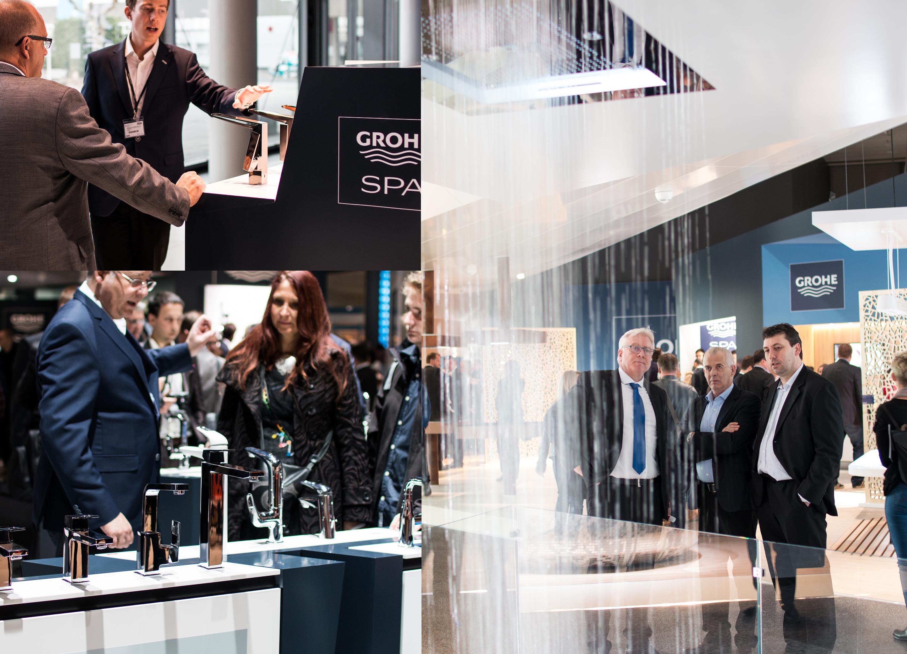 Standul GROHE de la ISH 2015 - Noul concept al standului GROHE prezintă compania ca un