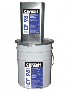 CF 98 - Sapa autonivelanta epoxidica  - Sape autonivelante