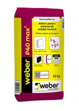 Adeziv pentru sisteme de izolatie termica - weber P40 max2 - Adezivi pentru termosisteme