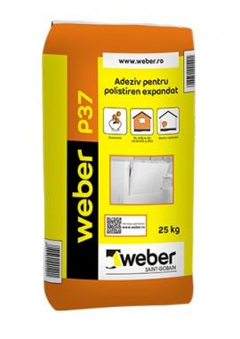 Adeziv pentru polistiren expandat - weber P37 - Adezivi pentru termosisteme