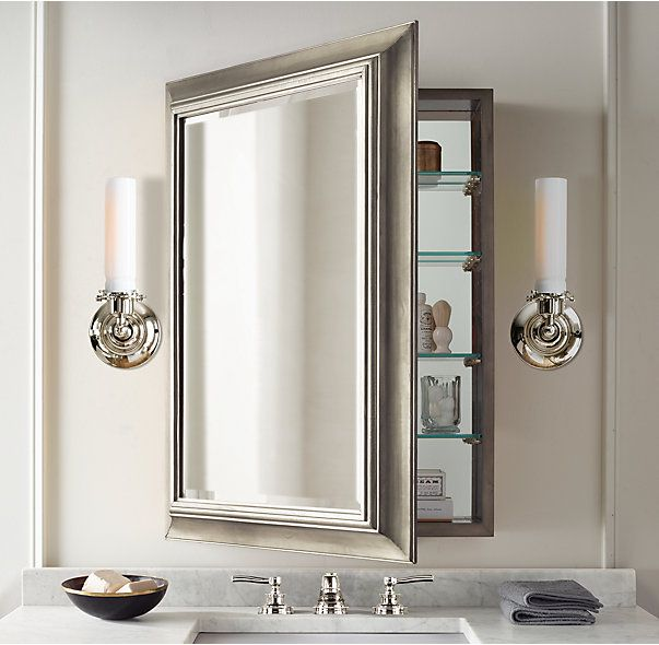 Dulapioare cu oglinda - Depozitarea in baile mici - gaseste loc pentru tot ce-ti trebuie!