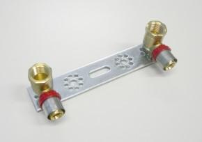 Consola cu racorduri finale - 1664 - Accesorii robineti instalatii termice, sanitare