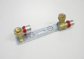 Consola cu racorduri finale nealiniate - 1664DI - Accesorii robineti instalatii termice, sanitare