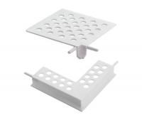 Piese de imbinare pentru profil muchii orizontale cu lacrimar - Accesorii pentru sisteme termoizolante