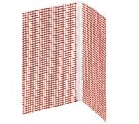 Profil PVC de colt cu plasa   - Accesorii pentru sisteme termoizolante