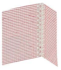 Profil aluminiu de colt cu plasa - Accesorii pentru sisteme termoizolante