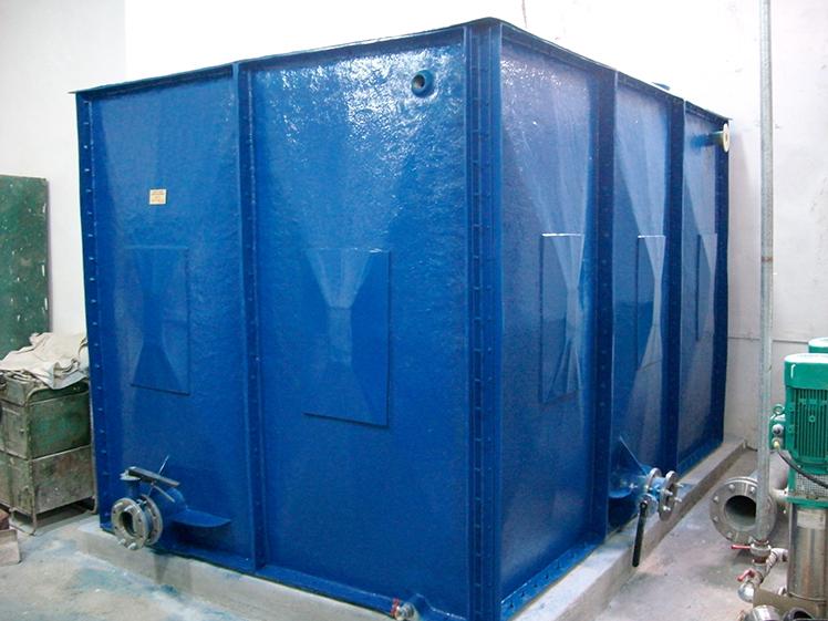 Rezervoare modulare rectangulare - Rezervoarele din fibra - o solutie optima