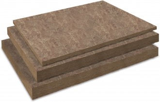 Placi din vata minerala bazaltica, cu tehnologie ECOSE - VENTACUSTO - Vata minerala bazaltica pentru fatade ventilate