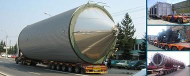 Transporturi agabaritice - Transport international de marfuri