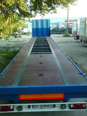 Montaj placaj antiderapant Tego - Montaj podea auto din placi Tego antiderapante din lemn stratificat