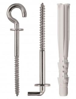 Diblu Tetrafix XL TFS-L si Carlig (Pirat H-TFS-L) - Dibluri si ancore metalice pentru beton si gips carton, conexpanduri profesionale