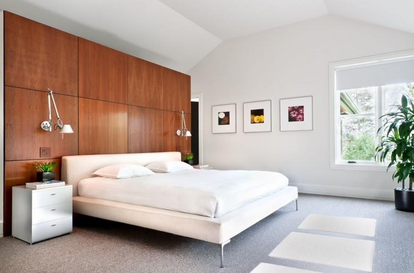Alb și lemn- combinația câștigătoare pentru orice dormitor - Alb și lemn- combinația câștigătoare pentru orice