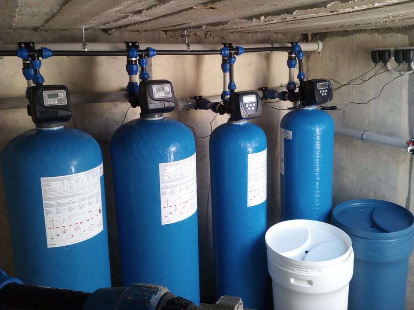 Sistem pentru eliminarea amoniului si nitratilor - Despre eliminarea fierului si manganului din apa