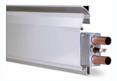 Sistem de incalzire prin plinta Thermodul - Modelul dublu (apa/electric) - Incalzire in plinta