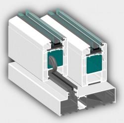Usa glisanta 5K - Roplasto - 4002 - Usi glisante din PVC