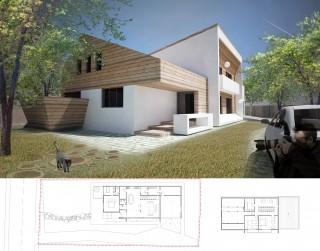 Locuinta unifamiliala P+1E Breaza - Proiecte locuine unifamiliare - AsiCarhitectura