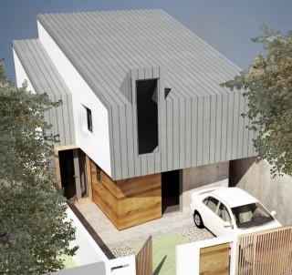 Locuinta unifamiliara - P+E Bucuresti - str. Banu Nicolae - Proiecte locuine unifamiliare - AsiCarhitectura