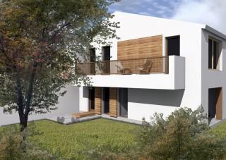 Locuinta unifamiliara P+M Bucuresti - str. Soimus - Proiecte locuine unifamiliare - AsiCarhitectura