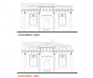 Remodelare mansarda locuinta existenta - str Ioan Bianu - Proiecte locuine unifamiliare - AsiCarhitectura