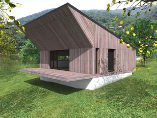 Living de vacanta - Nehoiu - Buzau - Proiecte locuine unifamiliare - AsiCarhitectura