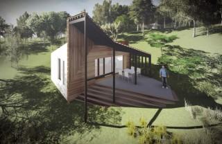 Crama + living de vacanta S+P - Buzau - Proiecte locuine unifamiliare - AsiCarhitectura