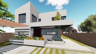 Vila unifamiliala Sp+P+E - Bragadiru - Proiecte locuine unifamiliare - AsiCarhitectura
