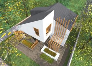 Locuinta pentru un cuplu tanat - Sp+P+M - com Berceni - Proiecte locuine unifamiliare - AsiCarhitectura