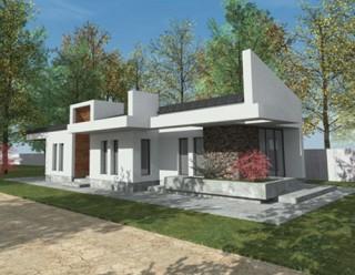 Locuinta parter, 5 camere - Otopeni5 - Proiecte locuine unifamiliare - AsiCarhitectura