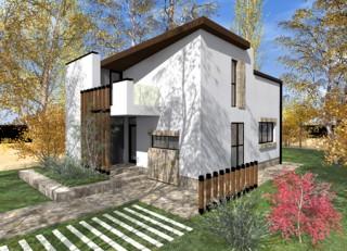 Locuinta P+Em, 4 camere, Berceni - Proiecte locuine unifamiliare - AsiCarhitectura