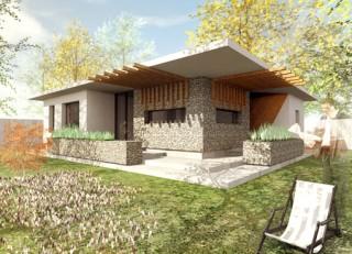 Locuita Parter, 2+1 camere, Berceni - Proiecte locuine unifamiliare - AsiCarhitectura