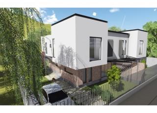Locuinta cuplata P+E - Sistem terasa - Bucuresti Nord - Proiecte locuine unifamiliare - AsiCarhitectura