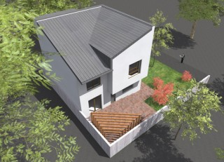 Casa robusta P+E+M - Sector 3 - Proiecte locuine unifamiliare - AsiCarhitectura