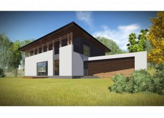 Casa P+E si garaj - 340 mp - Berceni - Proiecte locuine unifamiliare - AsiCarhitectura