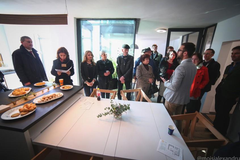 Parter - Dining - Acum poti vizita EFdeN 4C - Primul Centru de Cercetare a Conditiilor