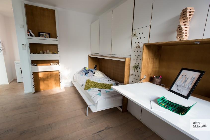 Etaj - Dormitor Mic - Acum poti vizita EFdeN 4C - Primul Centru de Cercetare a