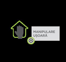 manipulare usoare - Avantaje