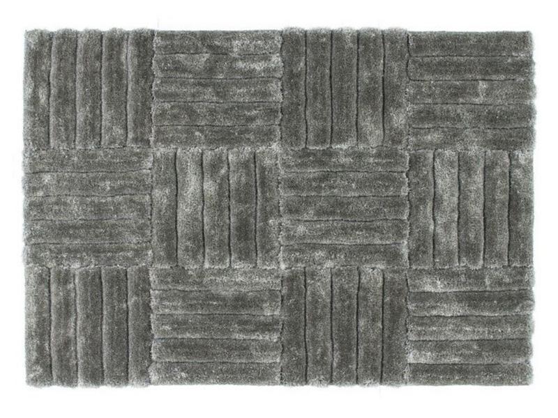 Covor Modern Poliester Decorino Colectia Montano 674S - Covoare in tonuri pale de gri - DECORINO