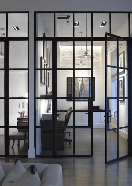 Pereti de compartimentare vitrati - Cum mascam spatiul de lucru?