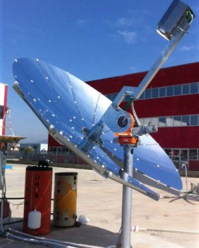 Cogenerare pe energie Solara - Sisteme de energie verde